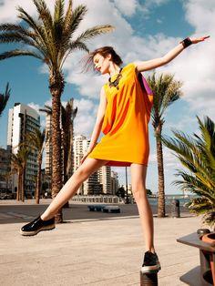 Love this spread in Elle Turkey