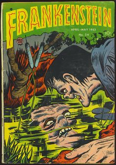 Frankenstein #24 comic.