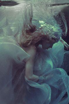 Majestic Mermaid Editorials - Ekaterina Belinskaya Stars in This Mermaid Style Fashion Series (VIDEO)