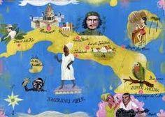 Map of Cuba - Olaf Hajek