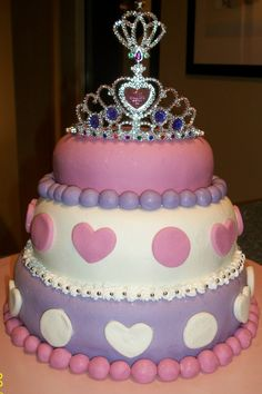 3 year old girls birthday cake pictures princess cakes | Princess Cake for 2 year old