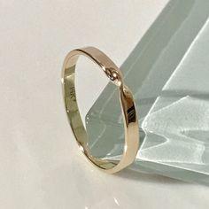 14k mobius ring, 14k infinity ring, 14k wedding ring, 14k wedding band, 14k engagement ring, 14k ring guard, 14k knuckle ring,14k gold ring by EllynBlueJewelry on Etsy https://www.etsy.com/listing/519879833/14k-mobius-ring-14k-infinity-ring-14k