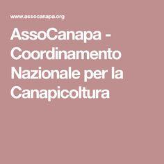 AssoCanapa - Coordinamento Nazionale per la Canapicoltura