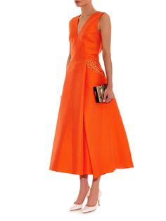 Antonio Berardi silk-blend dress