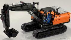 LEGO Set MOC-0168 - Zorex-220 PF-Excavator