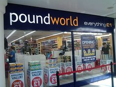 Poundworld Andover Opens Thursday 26th March