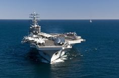This is how you move air power..    Nimitz Class USS Ronald Reagan     Aircraft Carrier