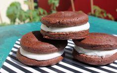 Glutenfreie Oreo-Kekse selbstgemacht (vegan)