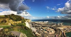 The white cliffs of Dover #dover #whitecliffsofdover #instapic #picoftheday #clouds #bluesky #landscape