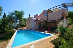 Featuring air-conditioned accommodations with a private pool Holiday Home Basina 8731 is located in Vrbanj. Guests have a private terrace. Holiday Home Basina 8731 Vrbanj Croatia R:Split-Dalmatia County I:Hvar Island hotel Hotels Stari Grad, Hvar Island, Haus Am See, Villa, Private Pool, Croatia, Terrace, Swimming Pools, Outdoor Decor