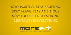 Get your brain in gear. Mentality is everything  Central London studios  From £5  http://www.morefit.co.uk/offers?utm_content=buffer42056&utm_medium=social&utm_source=pinterest.com&utm_campaign=buffer #getmorefit
