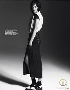 Ophelie Rupp   Elle France December 2012