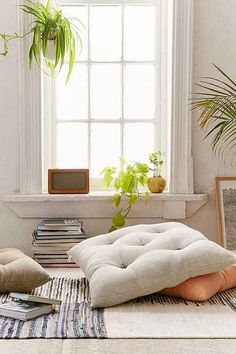 Frans Floor Pillow - Urban Outfitters