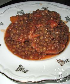 Cotechino con le lenticchie e Buon anno a tutti!