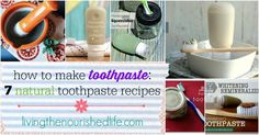 So you want to learn how to make toothpaste? It's actually a lot easier than you might think! Here are my favorite natural toothpaste recipes that...
