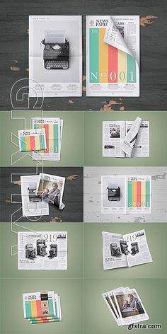CM - Newspaper Mock-Up Set 599733