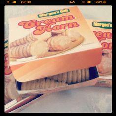 Cream horn!
