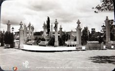 Fotos de Morelia, Michoacán, México: PLAZA DE SANTA MARIA Hacia 1945