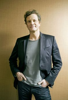 One of my favorite Colin Firth looks.  You know he is wearing his Sambas!