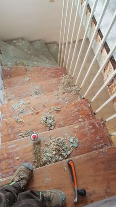 Redo Stairs, Town And Country, Removing Carpet, House, Carpentry, Sitting Rooms, Garten, Redoing Stairs