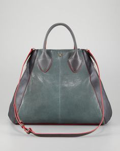 Colorblock Medium Tote Back - Neiman Marcus (and it's not even the most expensive one on the page!)