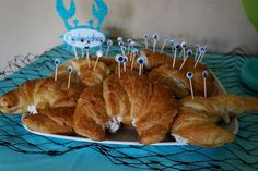 Under the Sea Birthday Party Ideas | Party food idea- crabwiches