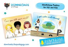 Mindfulness Posters for KS1 and KS2 are available to download now! http://downloads.thepedagogs.com/?s=mindfulness+poster #Mindfulnessforchildren #PedagogsDownloads