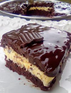 Σοκολατόπιτα με γέμιση βουτυρόκρεμας !!! ~ ΜΑΓΕΙΡΙΚΗ ΚΑΙ ΣΥΝΤΑΓΕΣ 2