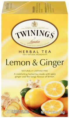 Twinings Lemon Ginger Tea 20 Bag Pack of 6 Review Buy Now