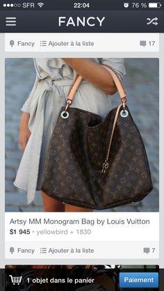 Je suis fan de ce sac