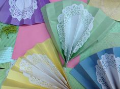 GARDEN TEA PARTY - activity: make fans