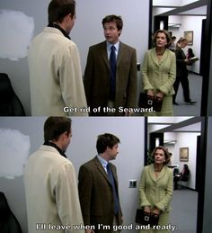 Arrested Development - get rid of the Seaward