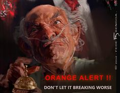 "Check out new work on my @Behance portfolio: ""ORANGE ALERT!"" http://be.net/gallery/44159091/ORANGE-ALERT"