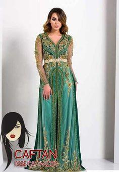 Caftan marocain / un choix pour une couture de luxe 2017  reste un privilège pour les femmes qui attendent les meilleures conceptions et ...