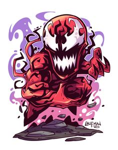 marvel chibi Chibi Carnage by DerekLaufman on DeviantArt Chibi Marvel, Marvel Vs, Marvel Dc Comics, Marvel Heroes, Chibi Superhero, Logo Super Heros, Marvel Cartoons, Marvel Drawings, Merian