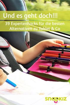 In the car with children: 39 expert hacks for the best alternatives to tablet & c . - In the car with children: 39 expert hacks for the best alternatives to tablet & co – meaningful e - Parenting Quotes, Kids And Parenting, Parenting Hacks, Infant Activities, Jouer, Travel With Kids, Good Movies, Diy For Kids, Did You Know