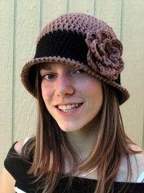 Free Crochet Cloche Hat Pattern   Crochet Cloche Hat Pattern   Free Easy Crochet Patterns Crochet Cloche ...