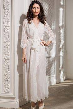 8910c7014f0 http   comfortstory.ru product udlinennyj komplekt halat i sorochka s kruzhevom   Jasmine