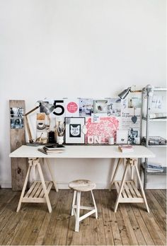 40 Floppy But Refined Boho Chic Home Office Designs | DigsDigs
