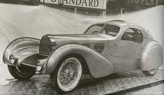 1935 Bugatti Aerolithe Prototype. @designerwallace