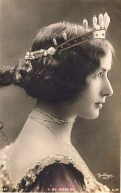 Cleo de Merode (1875-1966), Belle Epoque french dancer, 1900s
