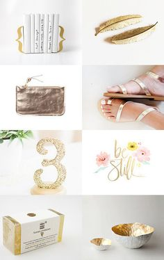 Dipped In Gold by Melissa Marini on Etsy--Pinned with TreasuryPin.com