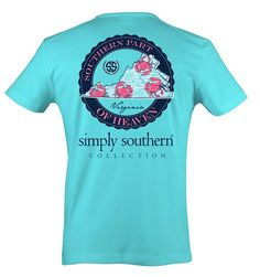 155ce16d2f1 Simply Southern Virginia Heaven T-Shirt Simply Southern Shirts