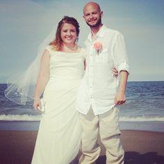 CONGRATULATIONS Jeremy and Allison!!! #stephenpalmerweddings #tybeeisland #beachwedding
