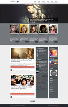 Fuse Music Wordpress Theme by Radar Themes on @creativemarket