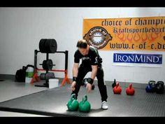Steve Cotter teaches the Kettlebell Clean