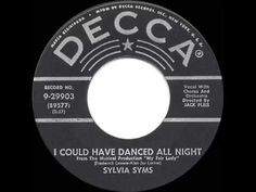 1956 HITS ARCHIVE: I Could Have Danced All Night - Sylvia Syms