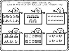 Number 5 coloring pages for kids, counting sheets