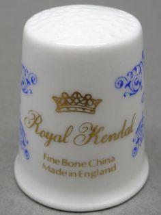 Royal Kendal-England. Edicion UK. TCC. Thimble-Dedal-Fingerhut.