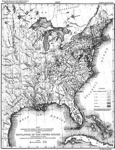 United States Map With Missouri Compromise Line And Colorcoded - Blank us map 1820